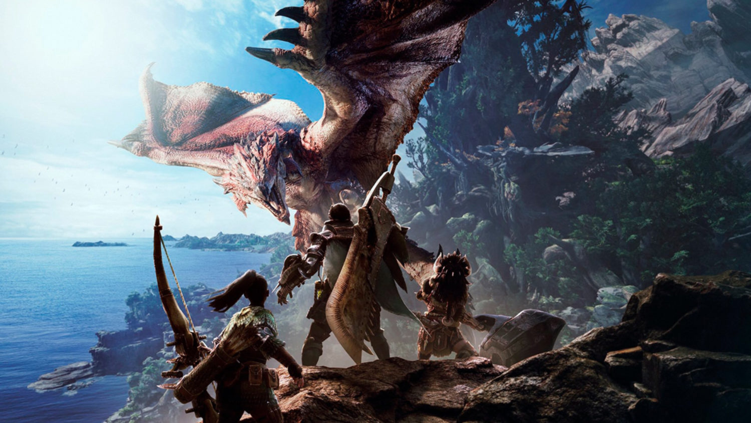 Monster Hunter World encabezado