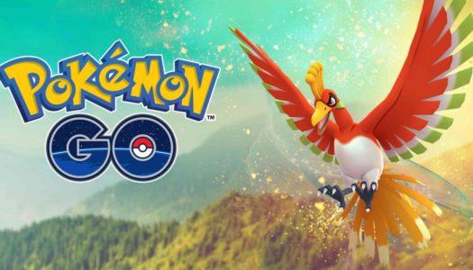 Ho-Oh llega a Pokémon GO con motivo del Desafío de Captura Global