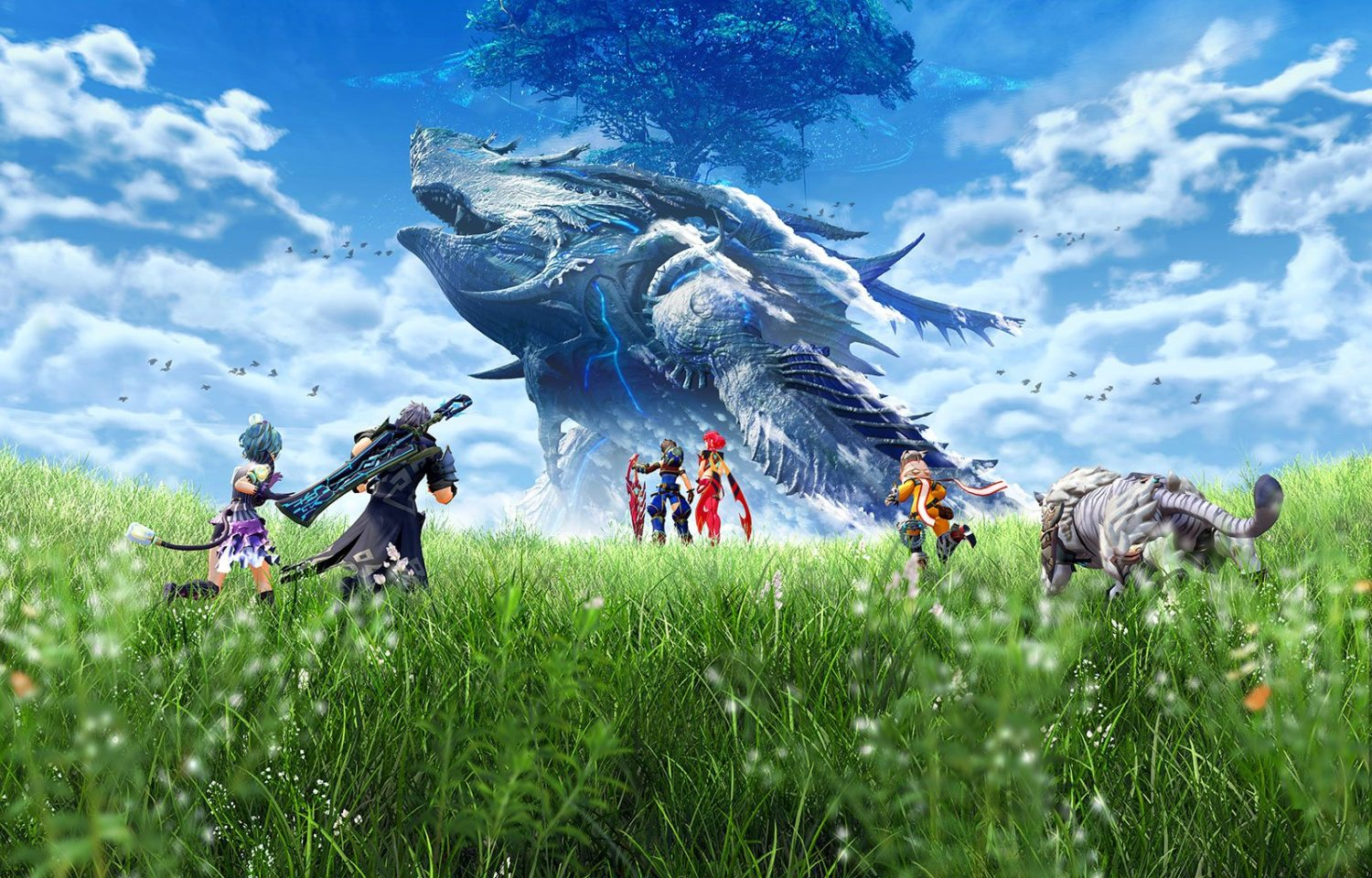 Xenoblade Chronicles 2 Wallpaper