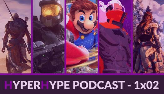 HyperHype Podcast 1×02 – Nintendo Direct Mini, Assassin's Creed, HTC Vive Pro…