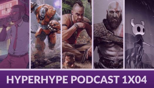 HyperHype Podcast 1×04 – Red Dead Redemption 2, Anthem, Paragon…