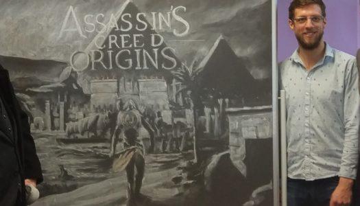 Maxime Durand, historiador para Assassin's Creed en Ubisoft Montreal