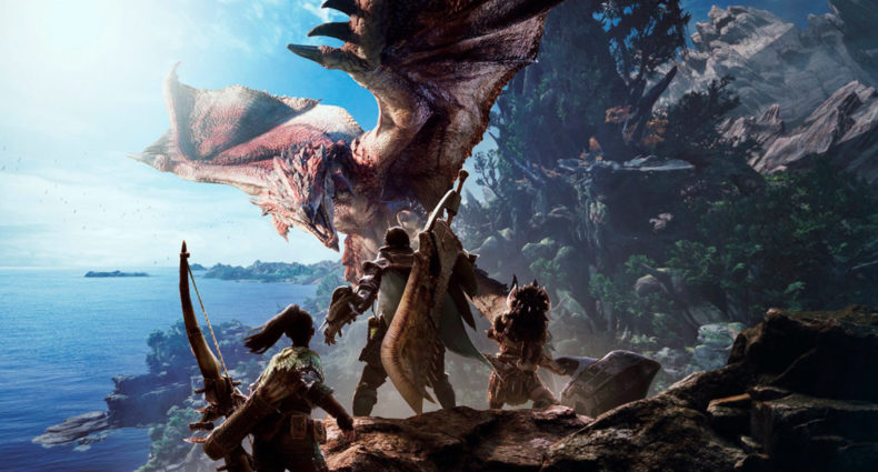 Monster Hunter World encabezado