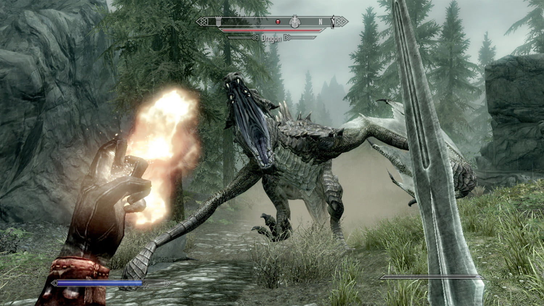 Skyrim-Combate