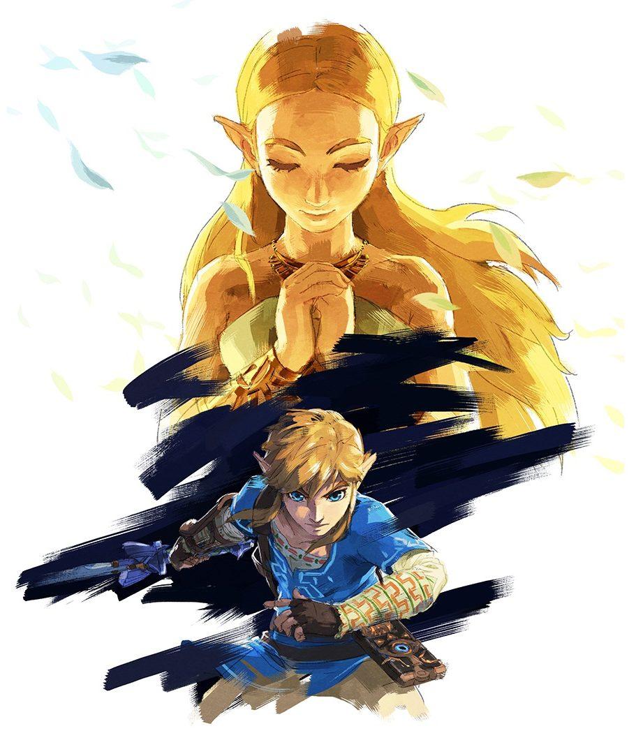 The Legend of Zelda Breath of the Wild vertical