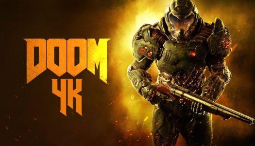 DOOM recibe hoy la resolución 4K