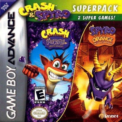 2 x 1 - Spyro & Crash Fusion