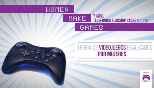 Evento de Women Make Games de Madrid