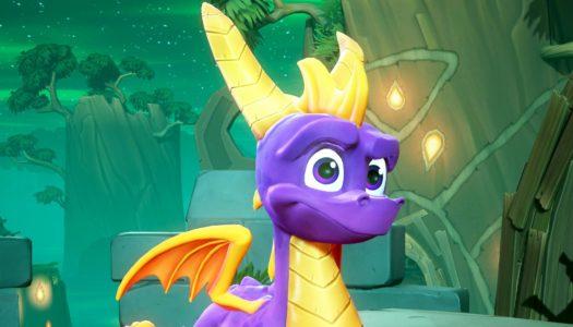 Spyro recibe un dron a tamaño real para celebrar su remasterización