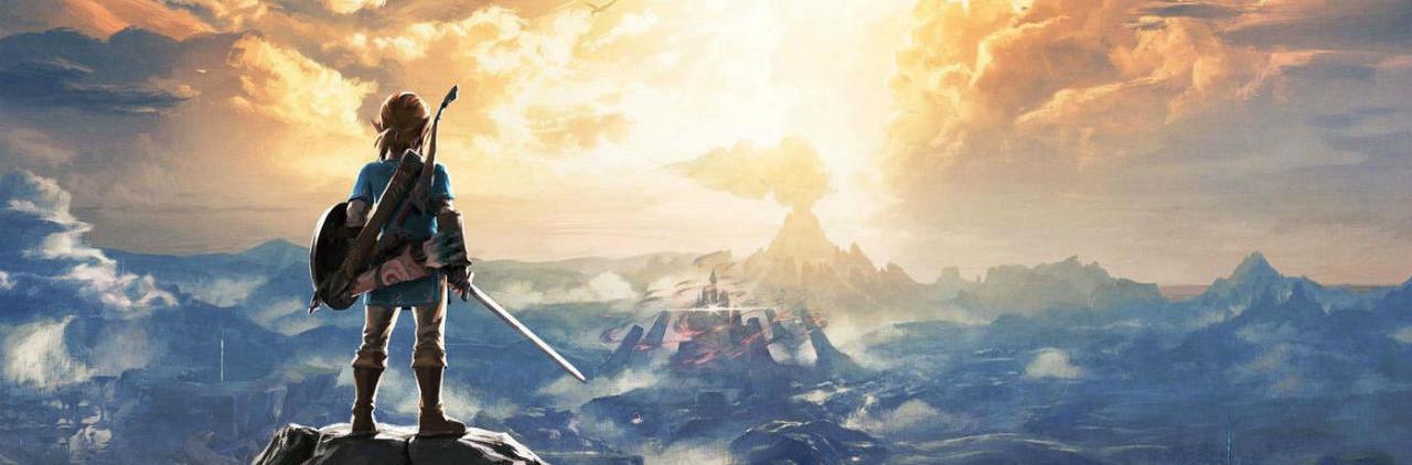 Breath-of-the-Wild-Link Zelda BOTW