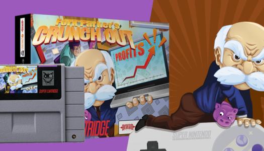 Fork Parker's Crunch Out, un juego de SNES para un problema actual