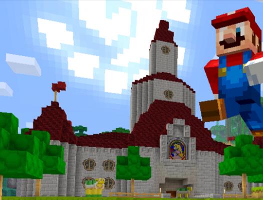 Minecraft Switch Mario