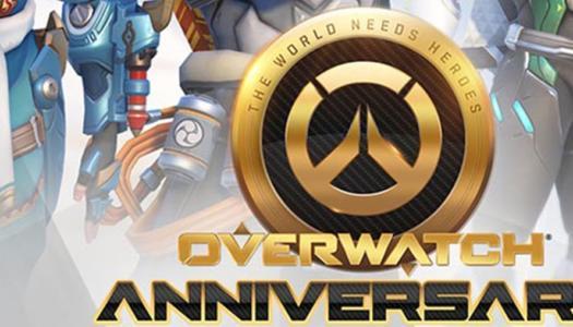 Overwatch comienza su evento de aniversario