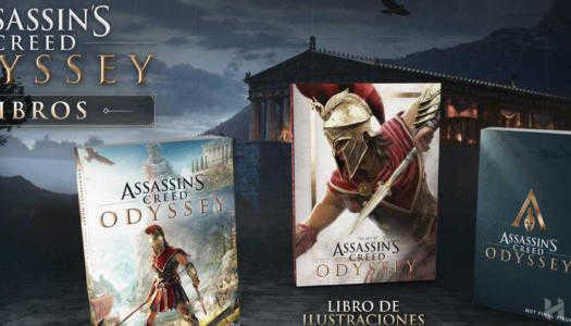 Assassin's Creed Oddysey traerá consigo nuevos libros