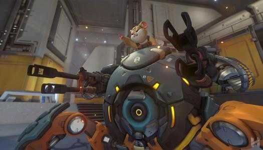 Hammond, el héroe 28 de Overwatch, es… un hámster en droideka