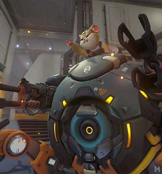 Wrecking Ball Hammond Overwatch