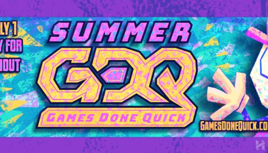 Summer Games Done Quick 2018, videojuegos por una buena causa