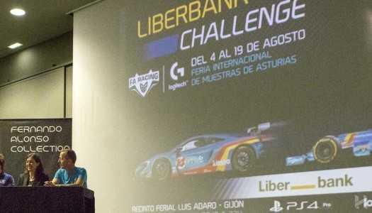 Fernando Alonso presenta Liberbank Challenge – FA Racing Logitech G