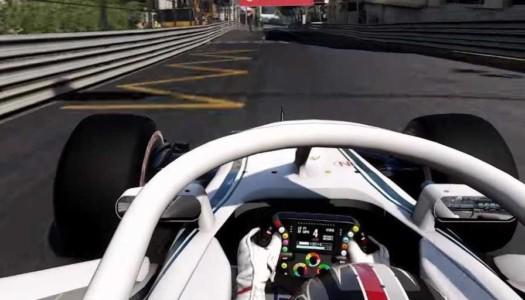 Se muestra el primer táiler oficial de F1 2018