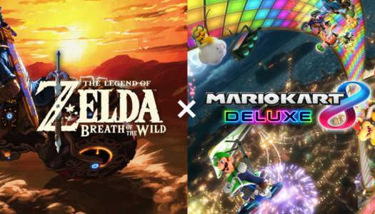 La nueva actualización de Mario Kart 8 Deluxe trae consigo al Link de Breath of the Wild