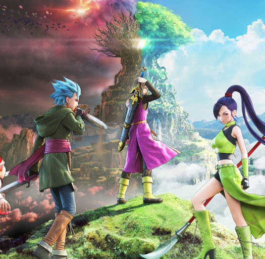 Dragon Quest XI-atuendo-cinemática
