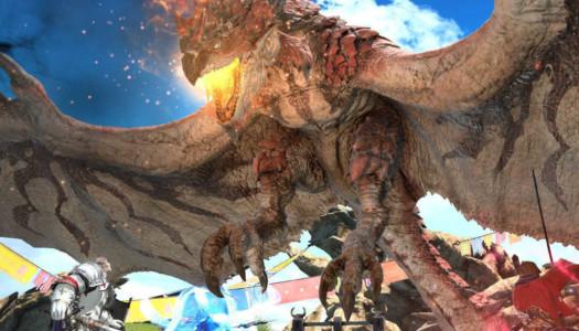 Comienza la colaboración entre Final Fantasy XIV y Monster Hunter: World