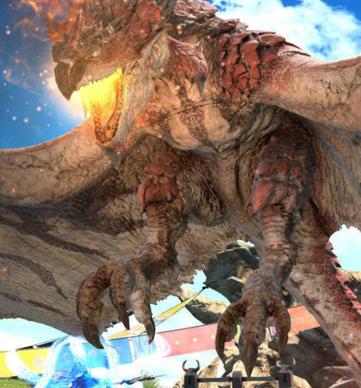 Final-Fantasy-XIV-Online-Monster-Hunter-World-Parche-4.36-Screenshots-12