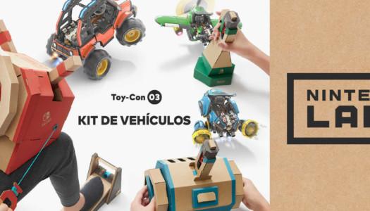 El Kit de vehículos de Nintendo Labo ya está disponible