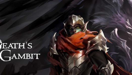 La versión física de Death's Gambit para PS4, ya a la venta