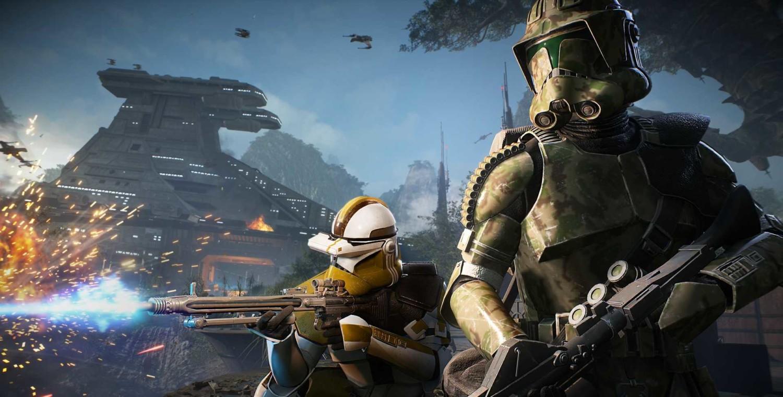 Star Wars Battlefront 2 Soldados clon