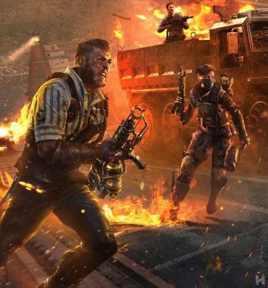 COD Black Ops IIII 4 Blackout