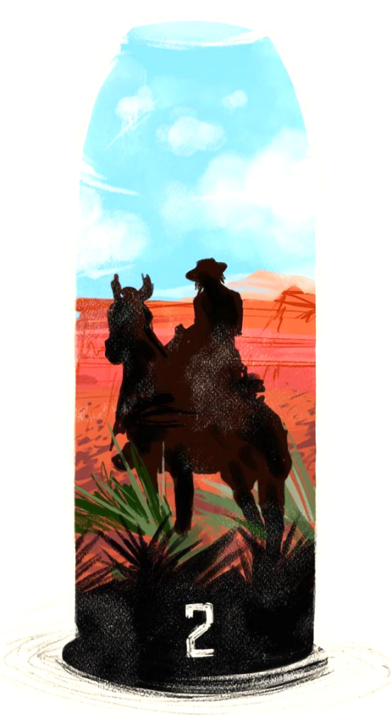 Red Dead Redemption Artwork by Willow Graphics