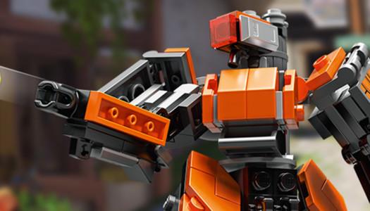 Ya está disponible la primera pieza de LEGO basada en Overwatch