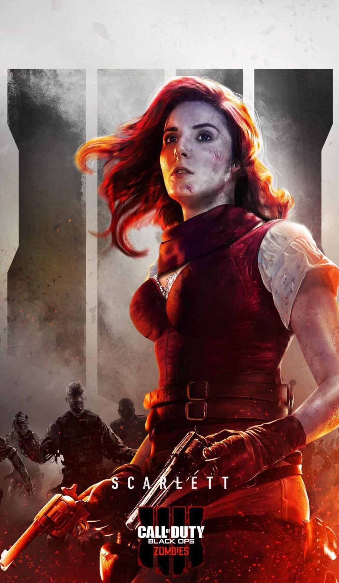 Black Ops 4 Scarlett