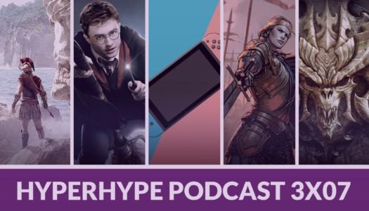 HyperHype Podcast 3×07 – Diablo, Harry Potter, Nintendo Switch…
