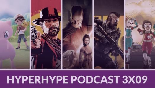 HyperHype Podcast 3×09 – Rockstar, Call of Duty y Pokémon Let's GO