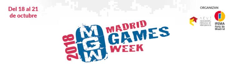 Resultado de imagen de madrid games week