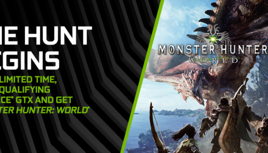 Nvidia anuncia un nuevo pack de sus gráficas con Monster Hunter: World