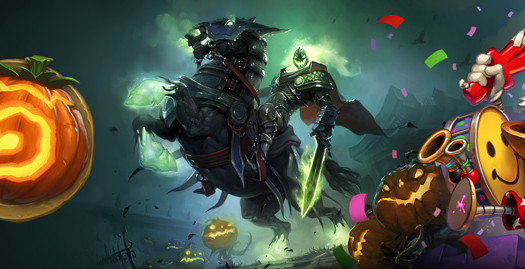 Hearthstone-de Halloween-nivel de