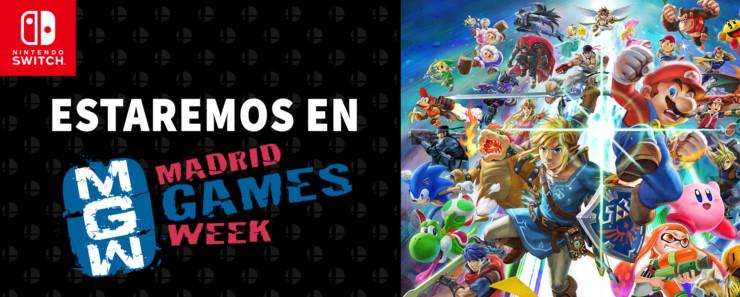 Nintendo Madrid Games Week MGW