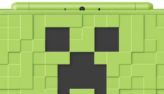 Llega una nueva New Nintendo 2DS XL basada en Minecraft