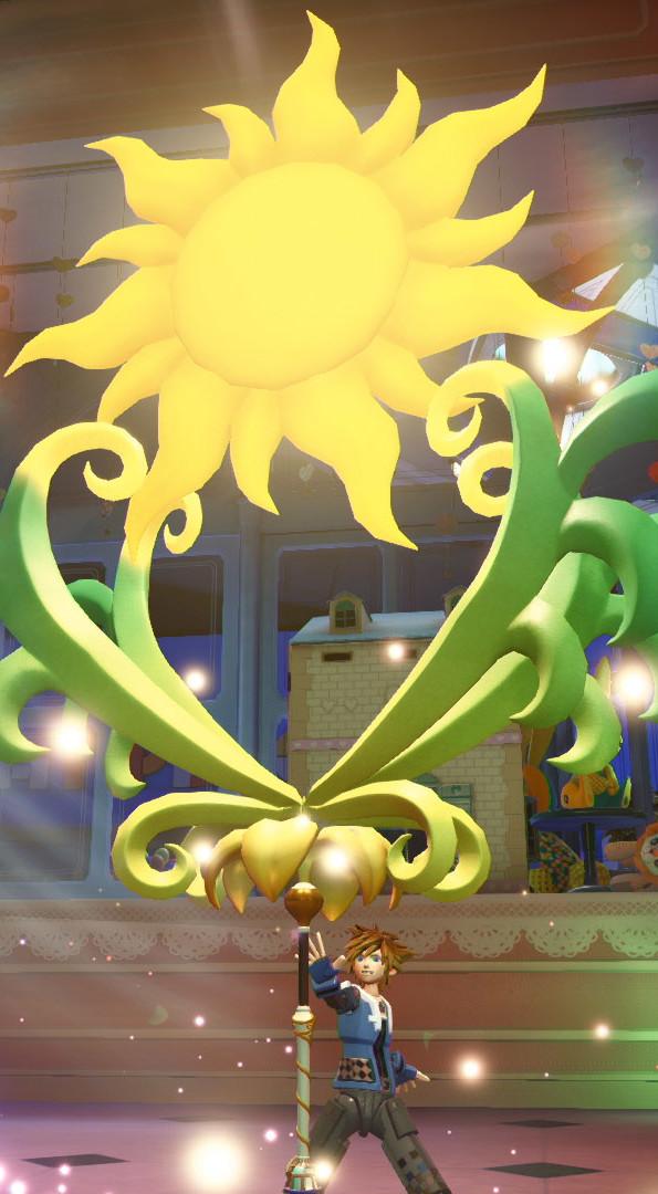 Kingdom Hearts III Enredados Tangled