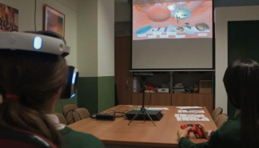 La Fundación 3M y PlayStation llevan la realidad virtual a los institutos