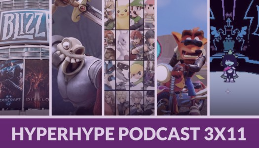 HyperHype Podcast 3×11 – PlayStation Classic, Blizzcon, Deltarune…