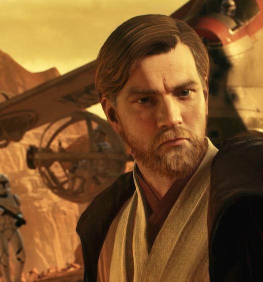 Star Wars Battlefront II Obi Wan