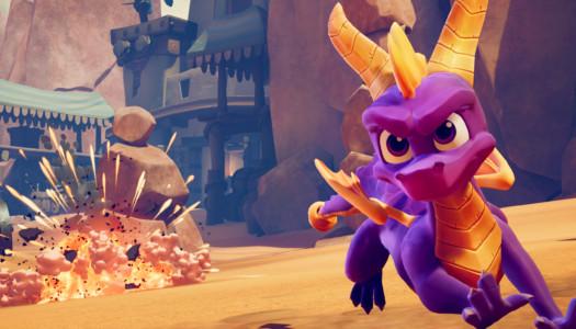Spyro Reignited Trilogy ya está disponible