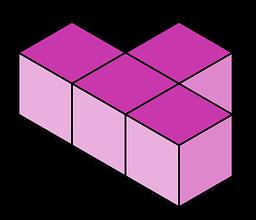 Tetris pieza tetromino 2