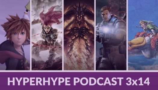 HyperHype Podcast 3×14 – Cliff Bleszinski, más Diablo, Darksiders III…