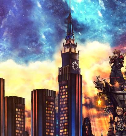 Kingdom Hearts III 3 KH3 Box Art main