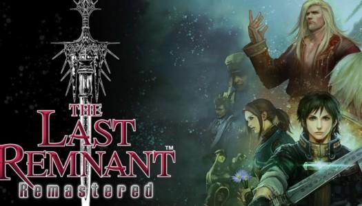 The Last Remnant Remastered ya está disponible para PlayStation 4